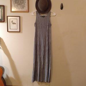 Gingham Summer Dress vintage/ wedding wear